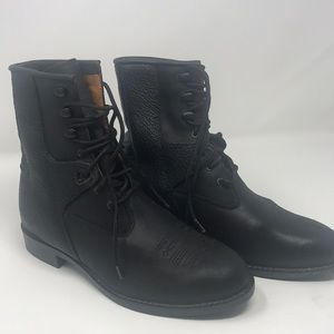 Ariat mens US7/EU39 Lace up leather roper boot